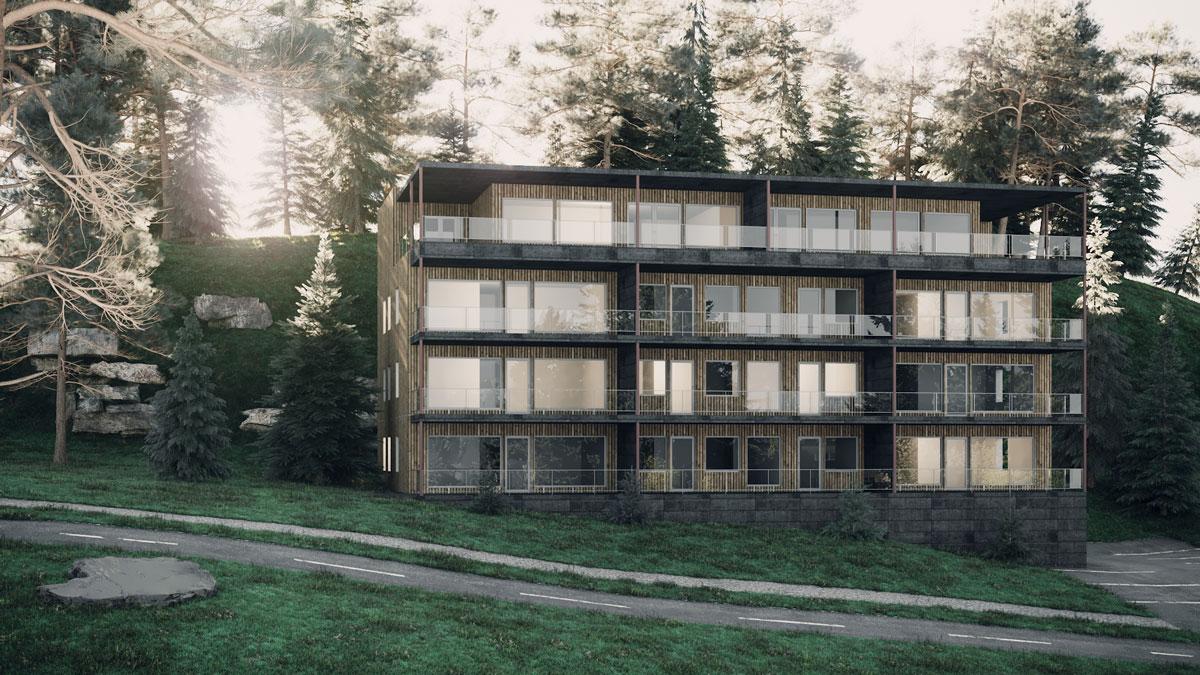 3D Exterior - Switzerland Hotel