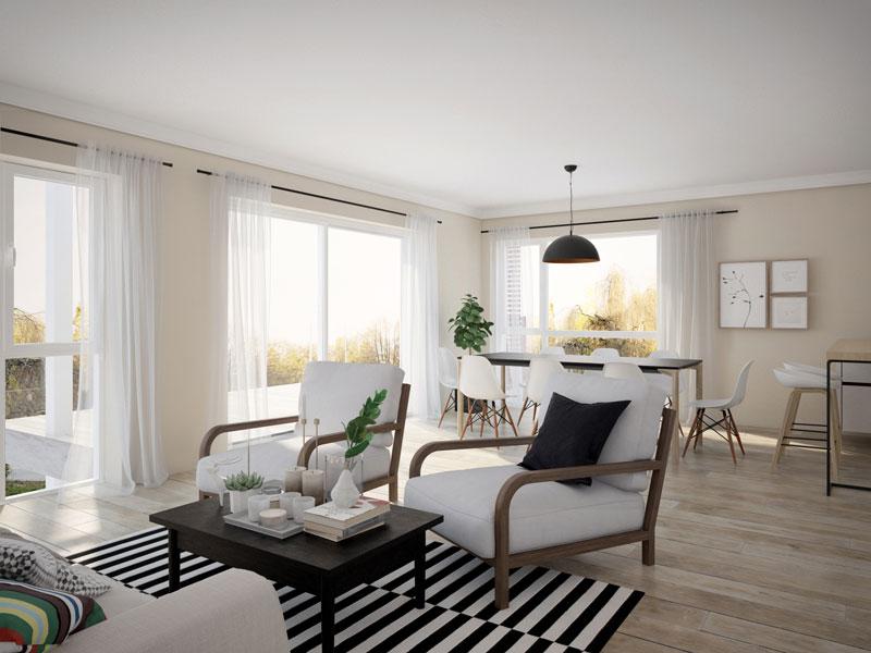 Visualisierung 3d Interior