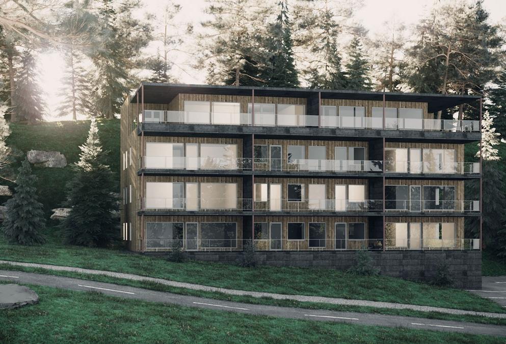 3d architektur visualisierungen Storhaug