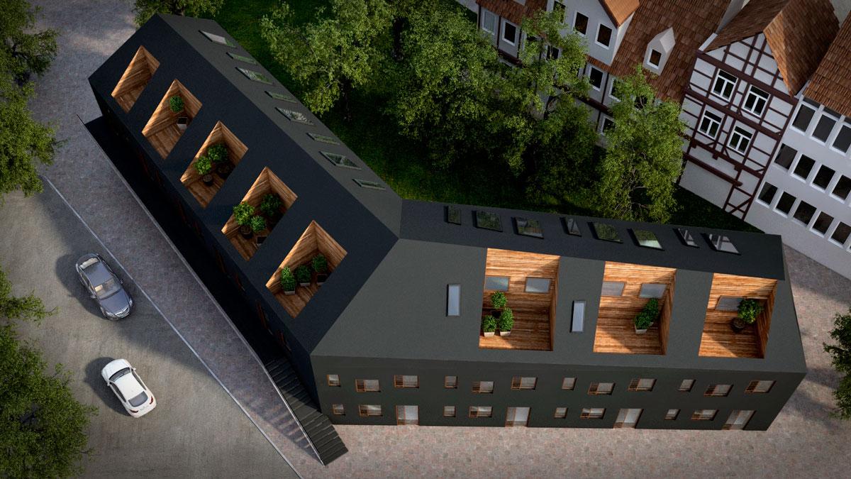 3d architektur rendering