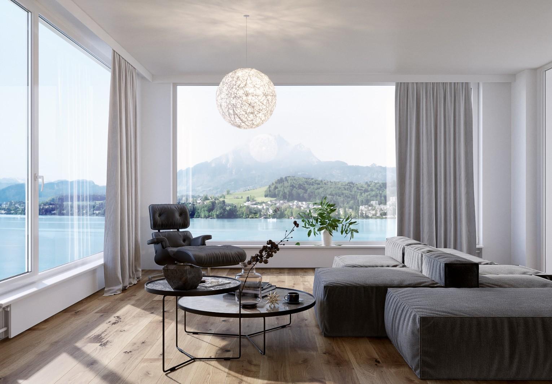 3D interior visualizations in Switzerland