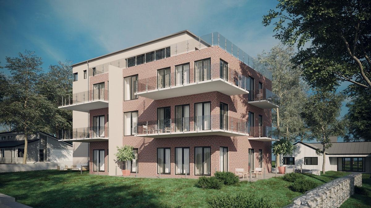 3D Visualization of Brick House