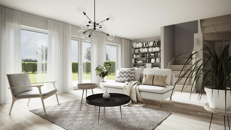 Modern Swedish interior design